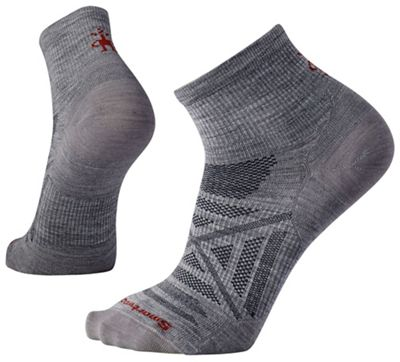Smartwool PhD Outdoor Ultra Light Mini Sock - XL - Light Grey