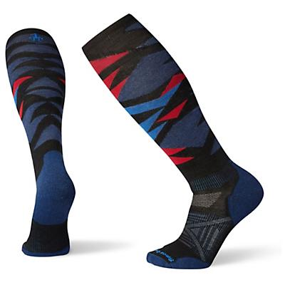 Smartwool PhD Ski Light Sock - Black / Deep Navy