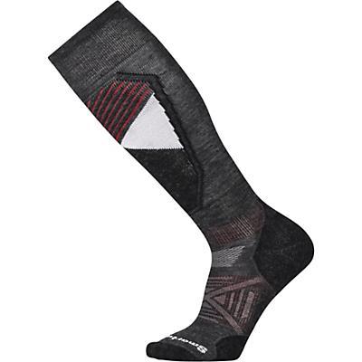 Smartwool PhD Ski Light Sock - Charcoal Pattern