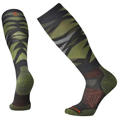 Smartwool PhD Ski Light Sock - Charcoal Pattern F18