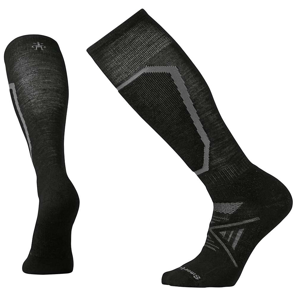 Smartwool PhD Ski Medium Sock - Medium - Black