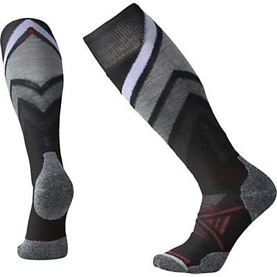 Smartwool PhD Ski Medium Sock - Black Pattern F18