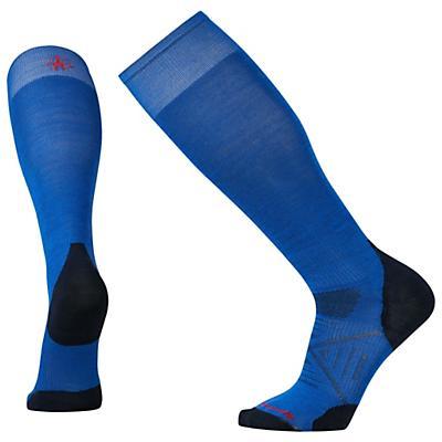 Smartwool PhD Ski Ultra Light Sock - Bright Blue