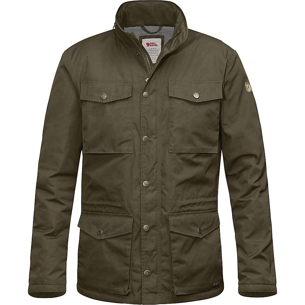Fjallraven Men's Raven Winter Jacket - Small - Khaki