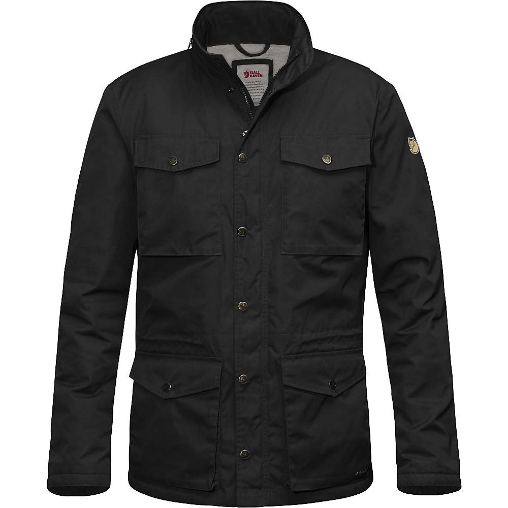 Fjallraven Men's Raven Winter Jacket - Small - Black