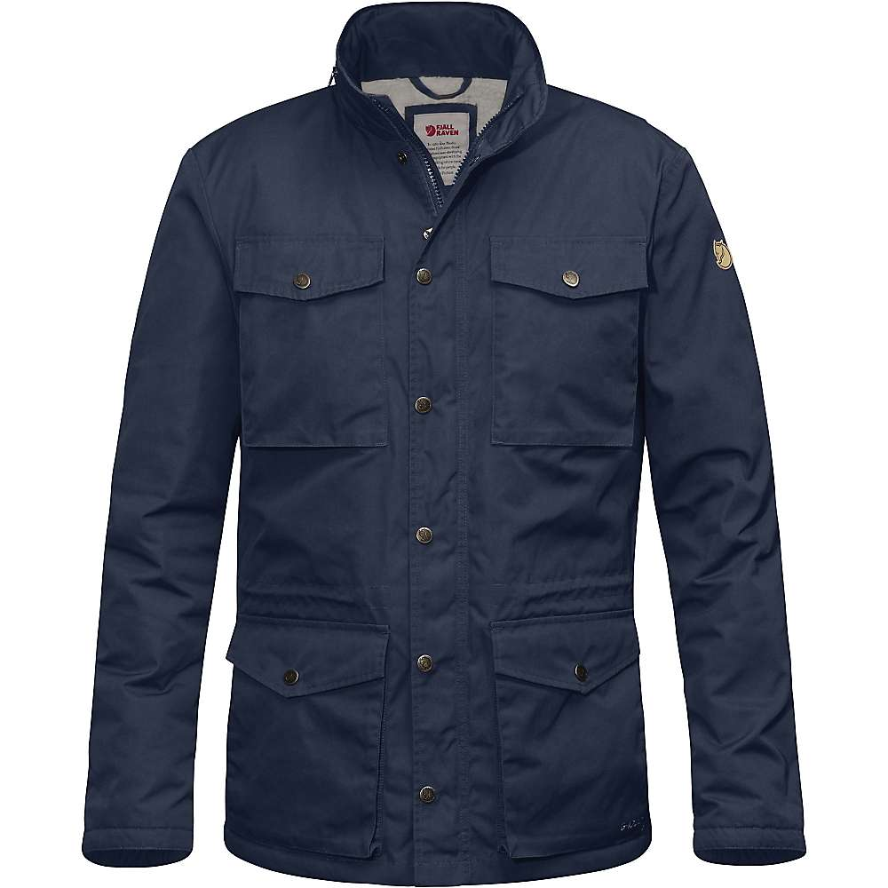 Fjallraven Men's Raven Winter Jacket - Small - Dark Navy