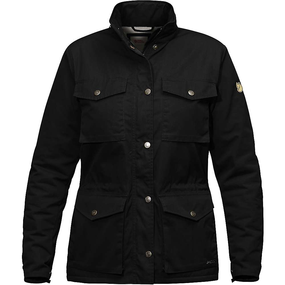 Fjallraven Women's Raven Winter Jacket - Large - Black