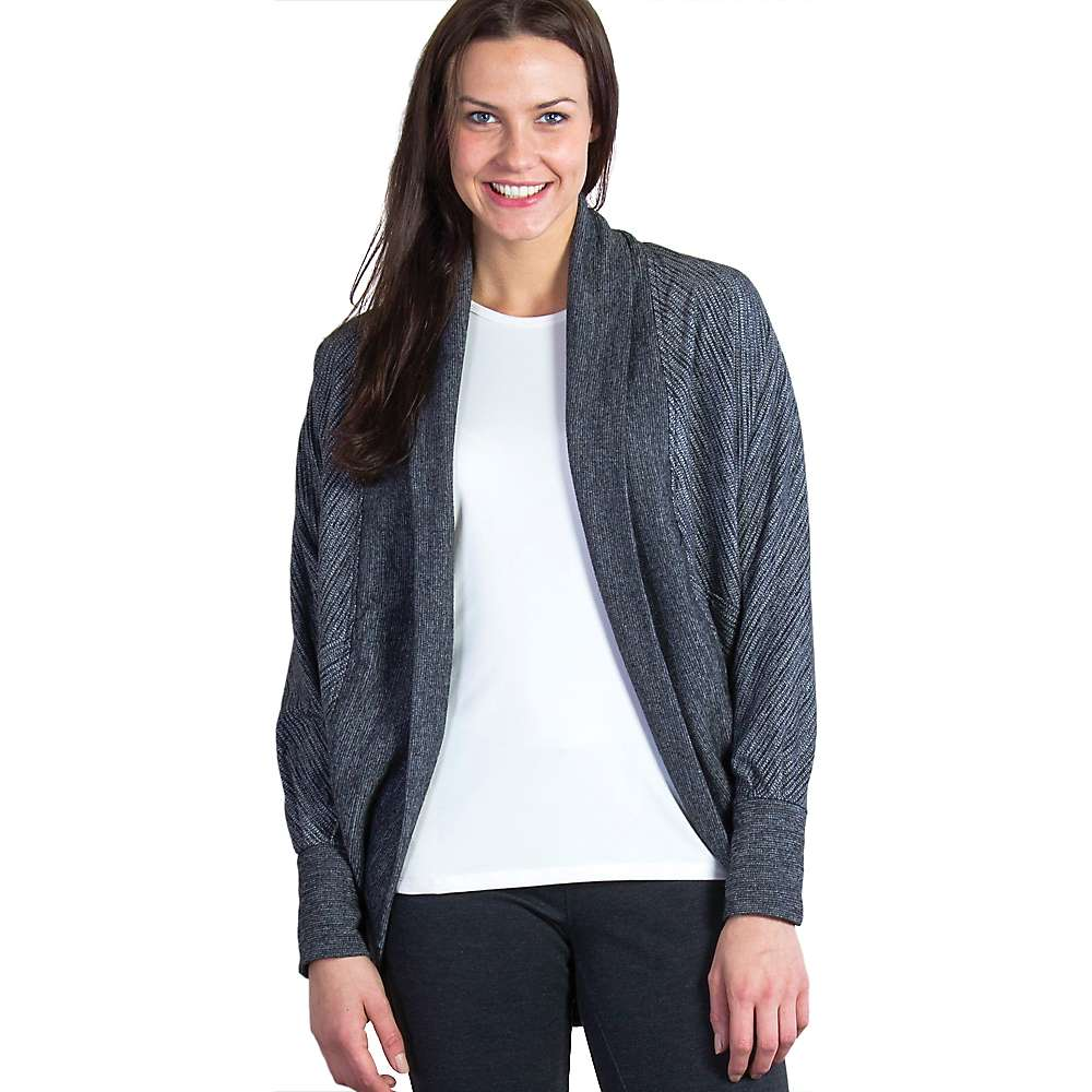 ExOfficio Women's Alanya Cocoon Wrap - Medium - Charcoal Heather