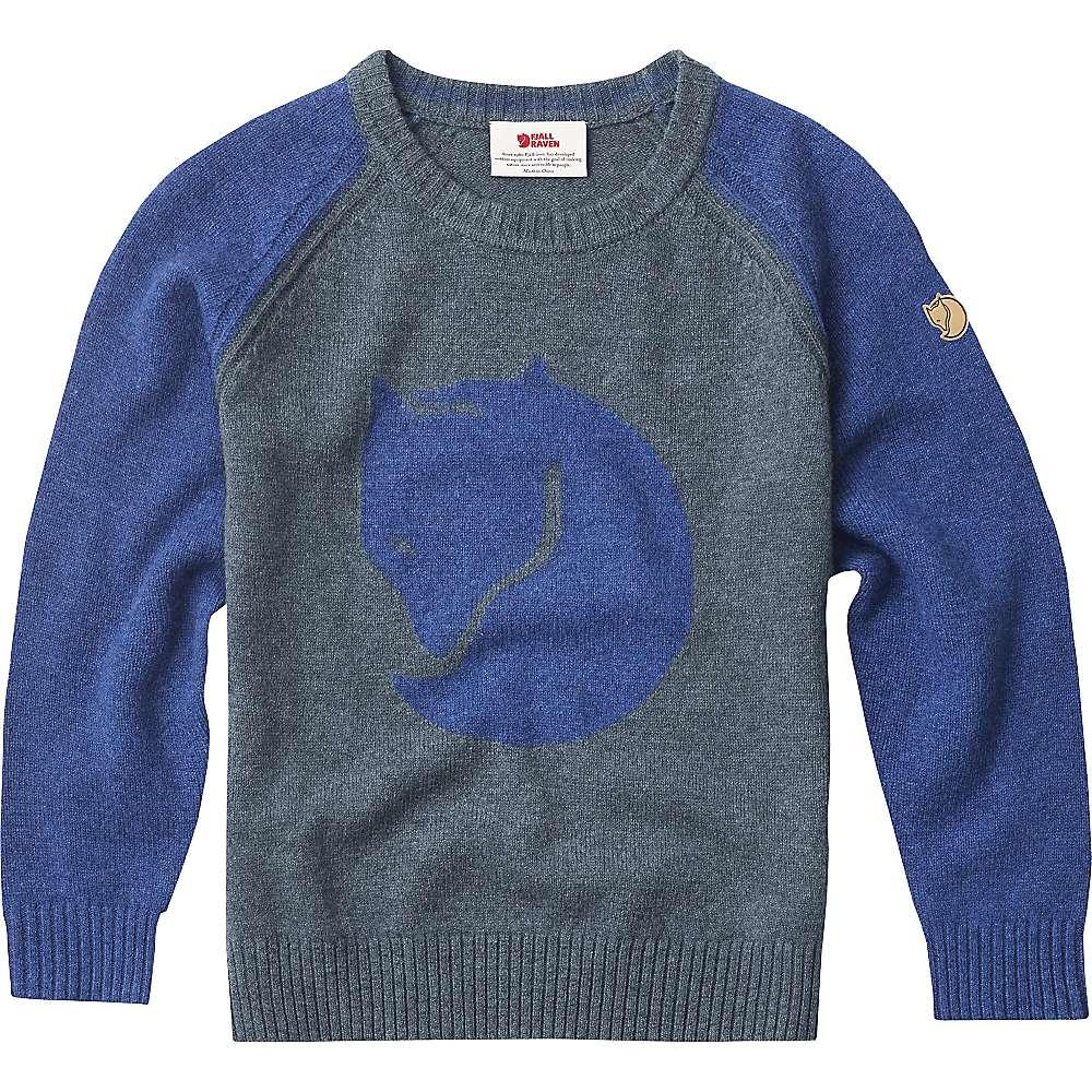 Fjallraven Kids' Fox Sweater - 134 - Uncle Blue
