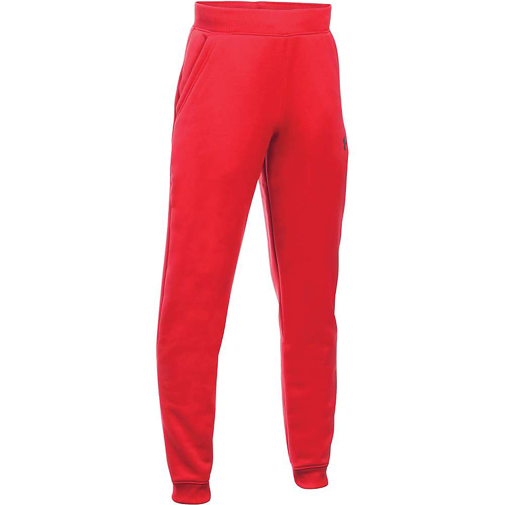 Under Armour Boy's Armour Fleece Storm Jogger Pant - XS - Red / Black