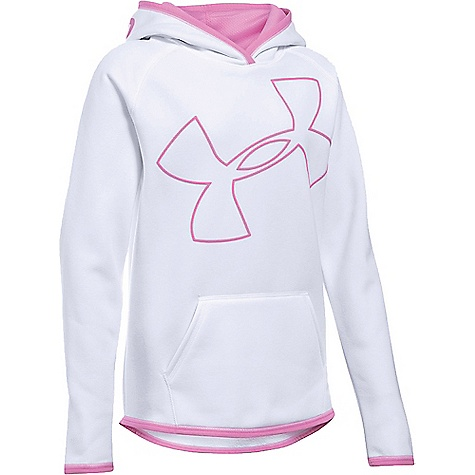 Under Armour Girl's Armour Fleece Big Logo Hoody 3219405