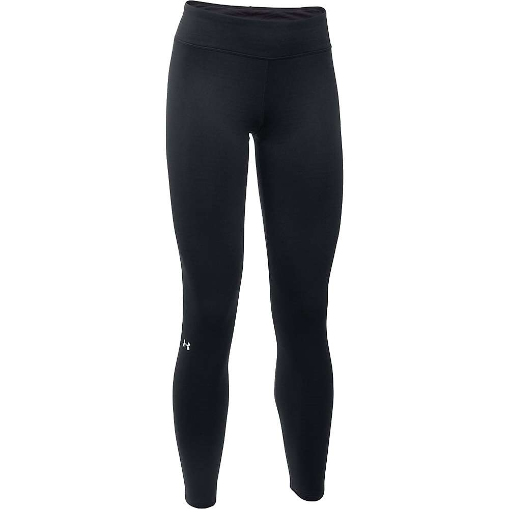 Under Armour Women's UA Base 1.0 Legging - Large - Black / Glacier Grey