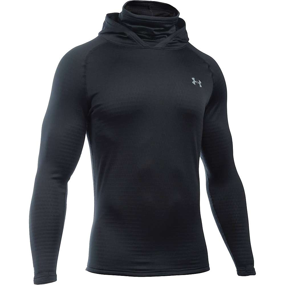 Under Armour Men's Base 2.0 Hoodie - Medium - Black / Steel