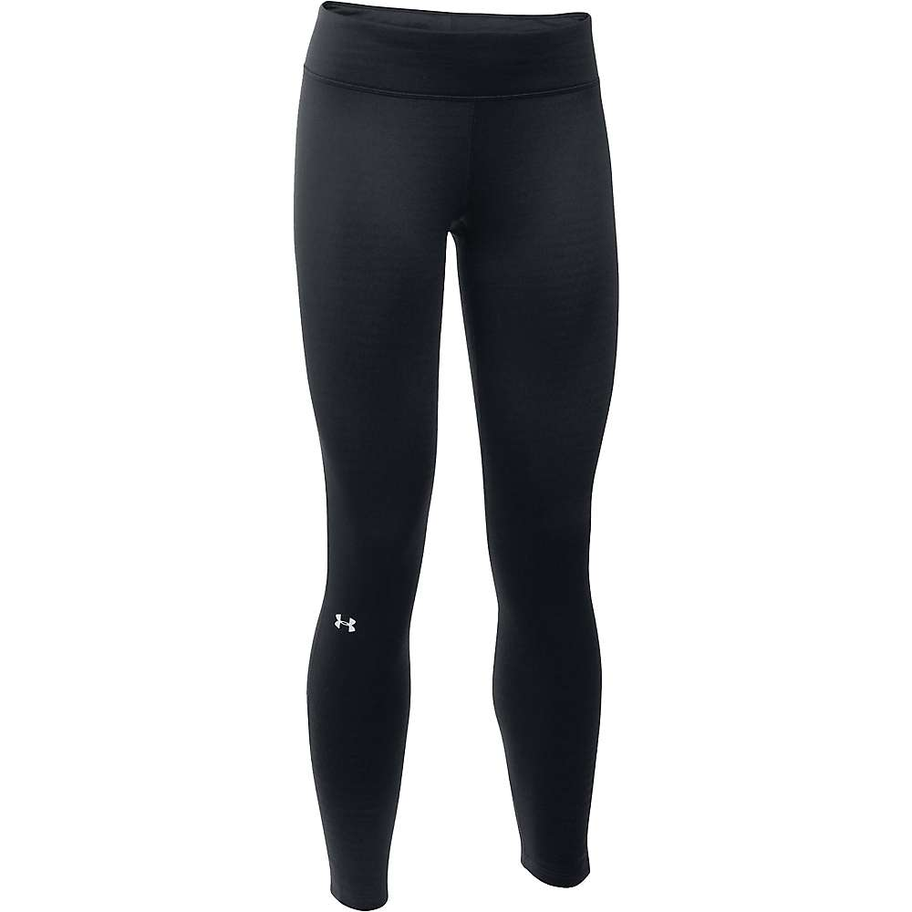 Under Armour Women's UA Base 2.0 Legging - Small - Black / Glacier Gray