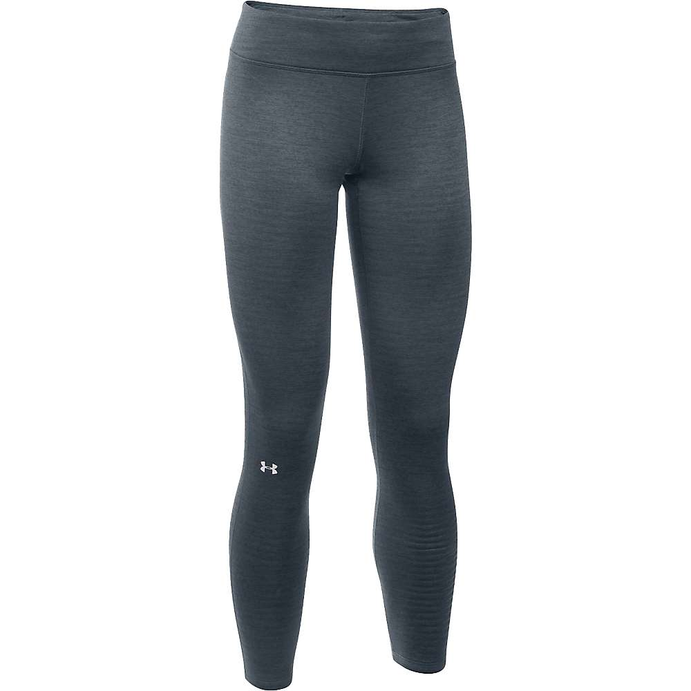 Under Armour Women's UA Base 2.0 Legging - Small - Lead / Glacier Grey