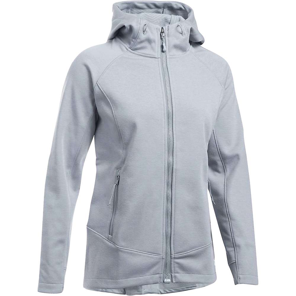Under Armour Women's ColdGear Infrared Dobson Softshell Jacket - Large - Steel