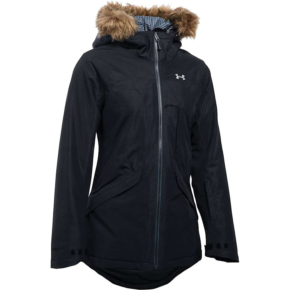 Under Armour Women's ColdGear Infrared Kymera Jacket - Medium - Black / Glacier Grey