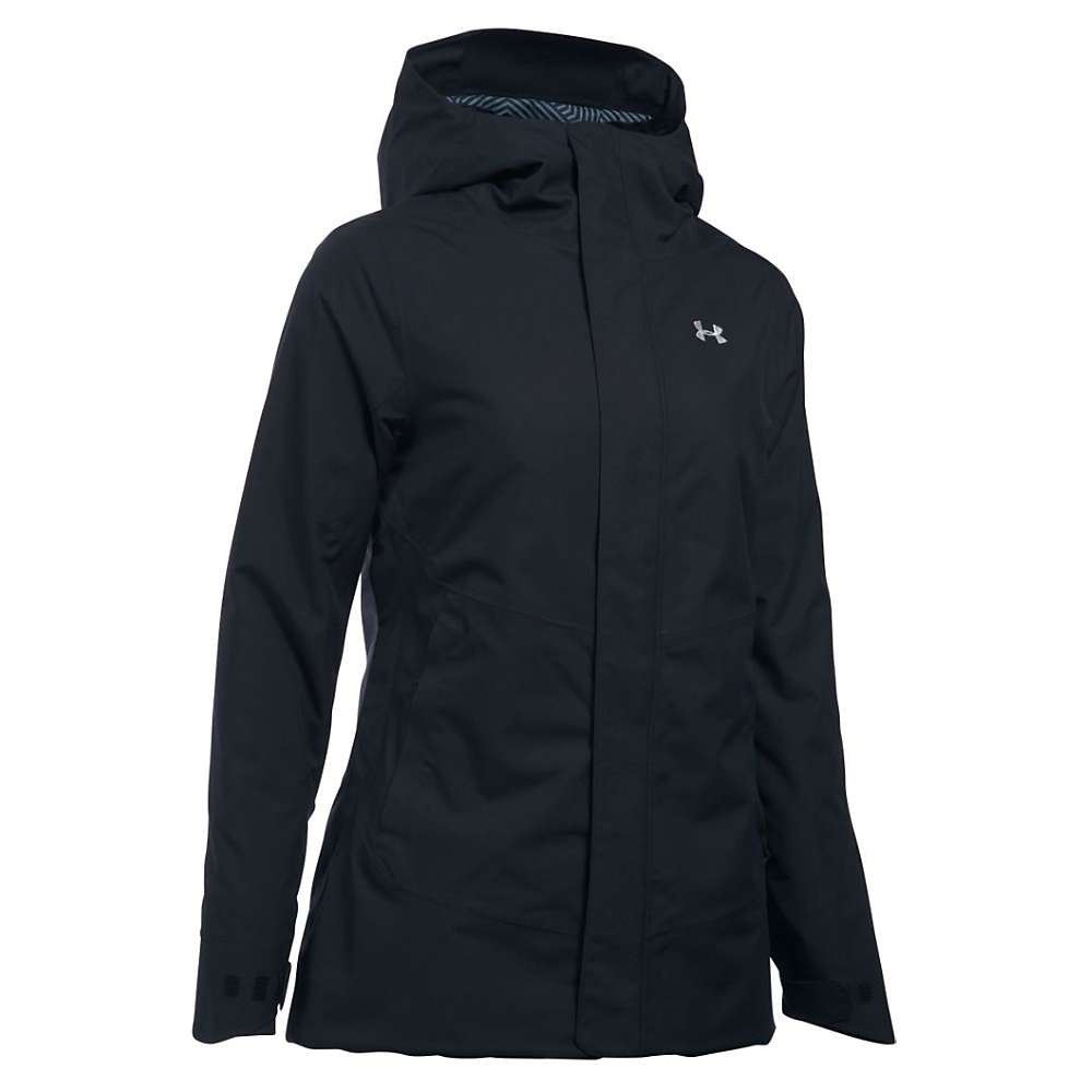 Under Armour Women's ColdGear Infrared Powerline Insulated Jacket - Medium - Black / Glacier Grey
