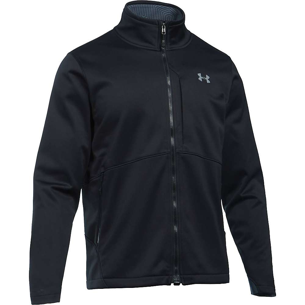 Under Armour Men's ColdGear Infrared Softershell Jacket - Medium - Black / Steel