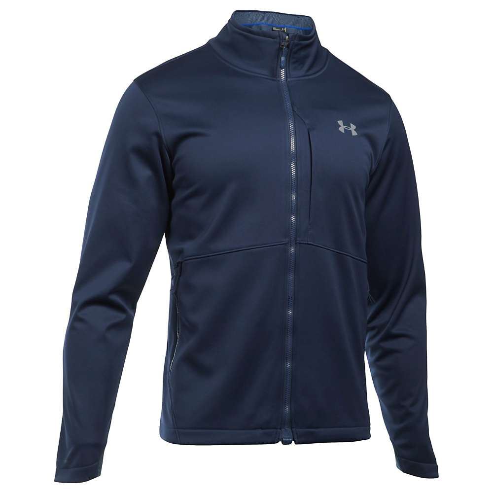 Under Armour Men's ColdGear Infrared Softershell Jacket - Medium - Midnight Navy / Steel