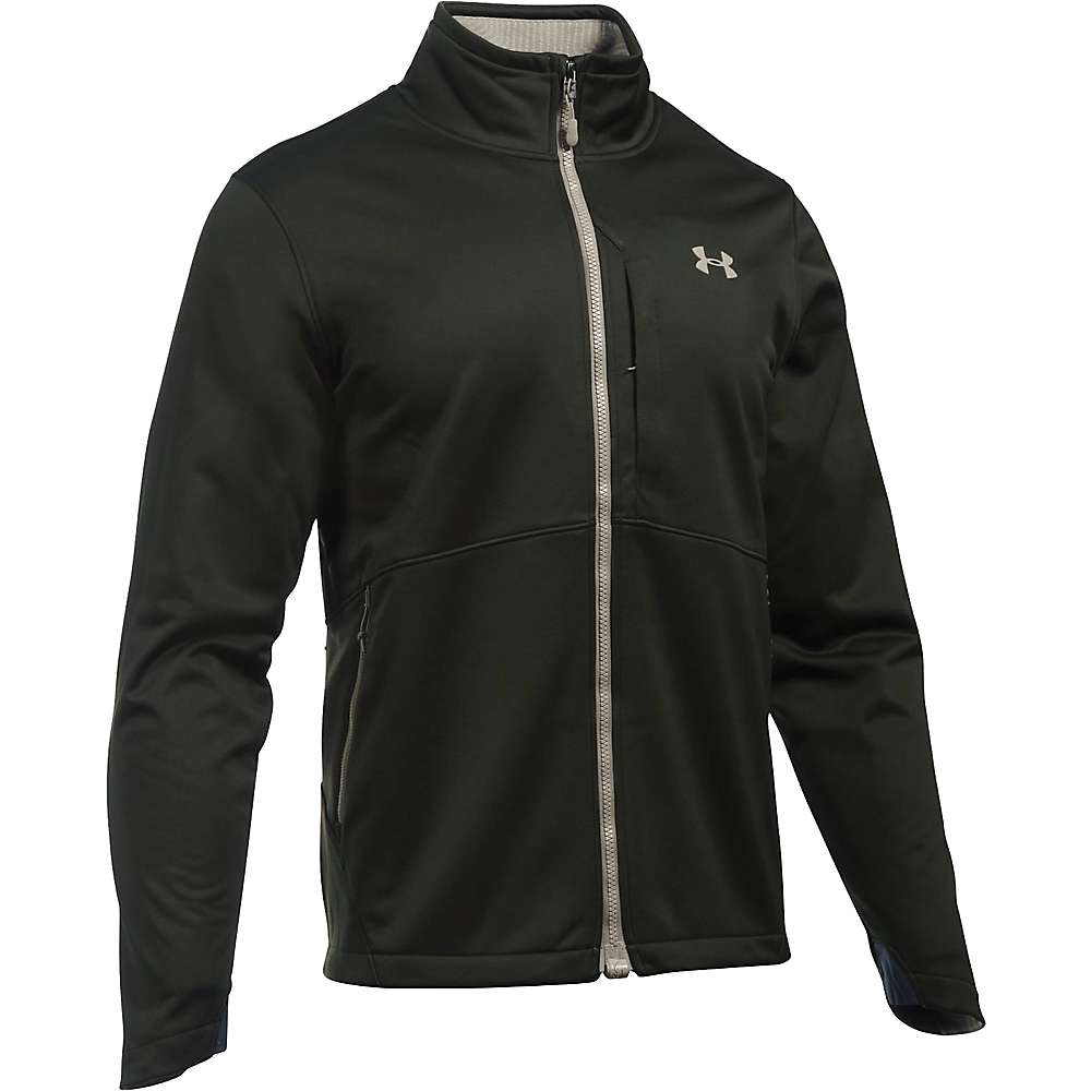 Under Armour Men's ColdGear Infrared Softershell Jacket - XXL - Artillery Green / Greystone