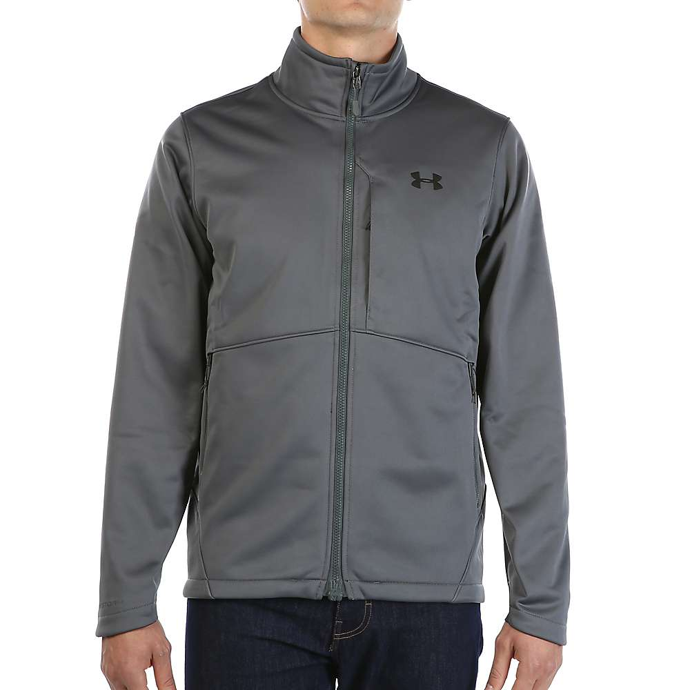 Under Armour Men's ColdGear Infrared Softershell Jacket - XL - Rhino Grey / Black