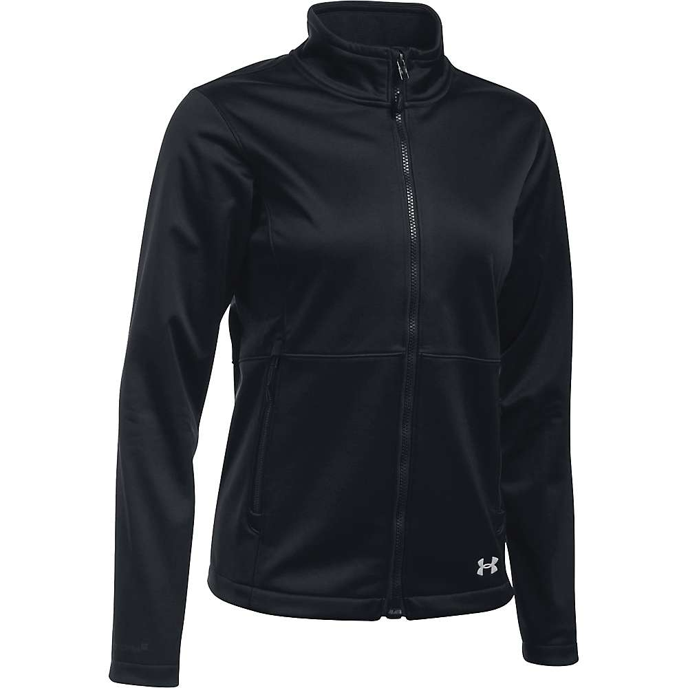 Under Armour Women's ColdGear Infrared Softershell Jacket - XS - Black / Glacier Grey
