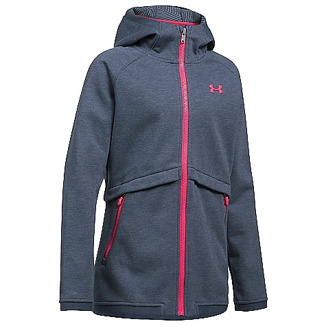 Under Armour Girls' UA ColdGear Infrared Dobson Softshell Jacket