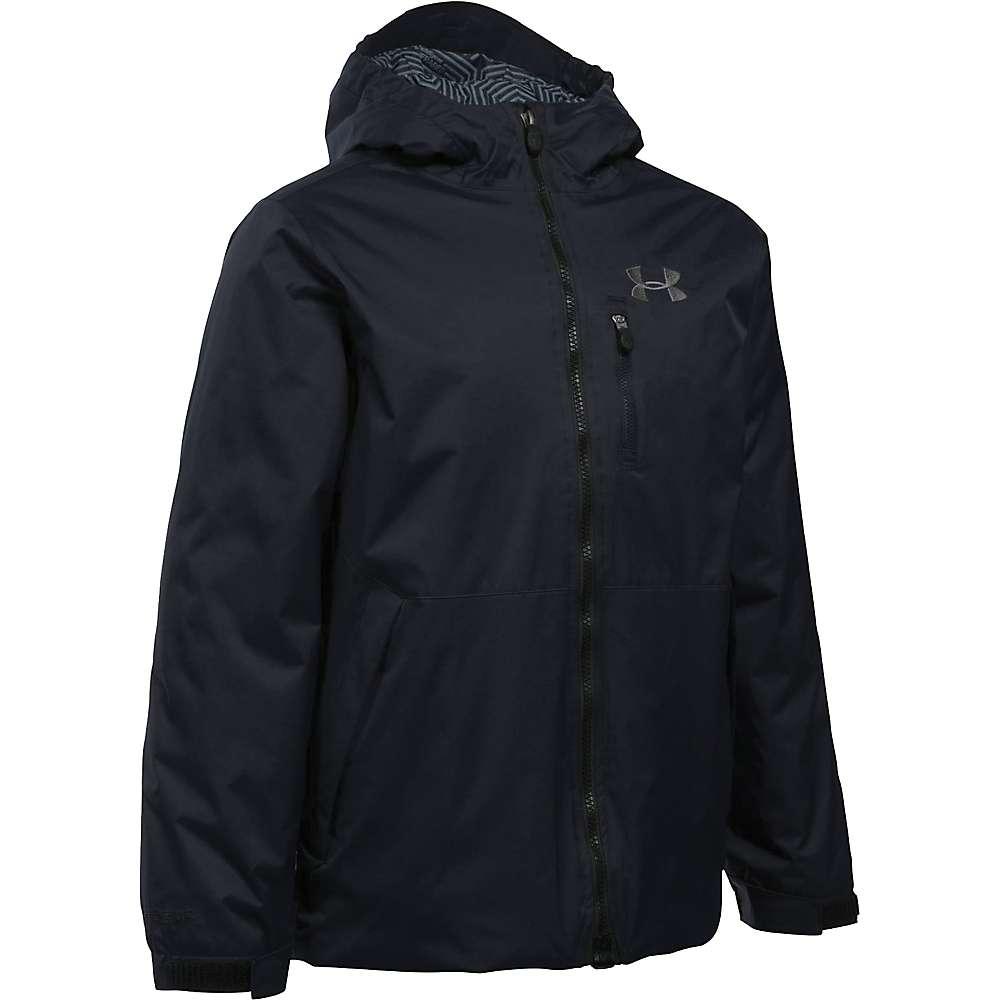 Under Armour Boy's ColdGear Reactor Yonders Jacket - Medium - Black / Graphite