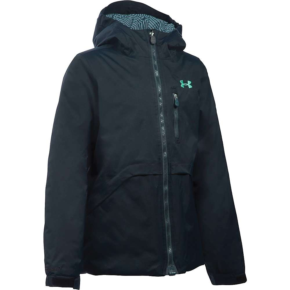 Under Armour Girl's ColdGear Reactor Yonders Jacket - XS - Black / Crystal