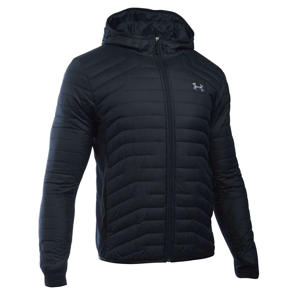 Under Armour Men's ColdGear Reactor Hybrid Jacket - XXL - Black / Steel