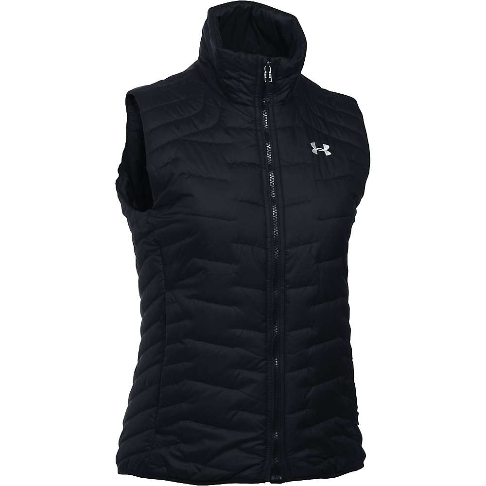 Under Armour Women's ColdGear Reactor Vest - XS - Black / Glacier Grey
