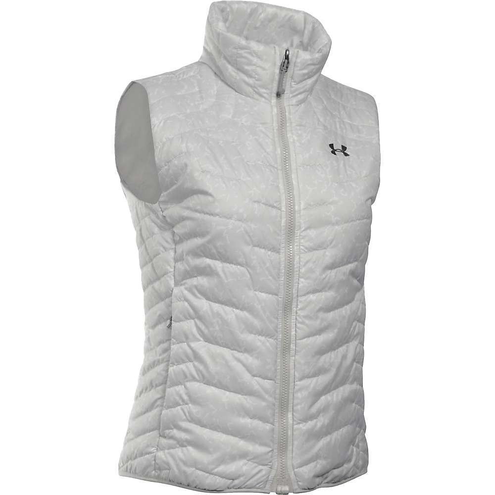 Under Armour Women's ColdGear Reactor Vest - Small - Glacier Grey / Stealth Grey