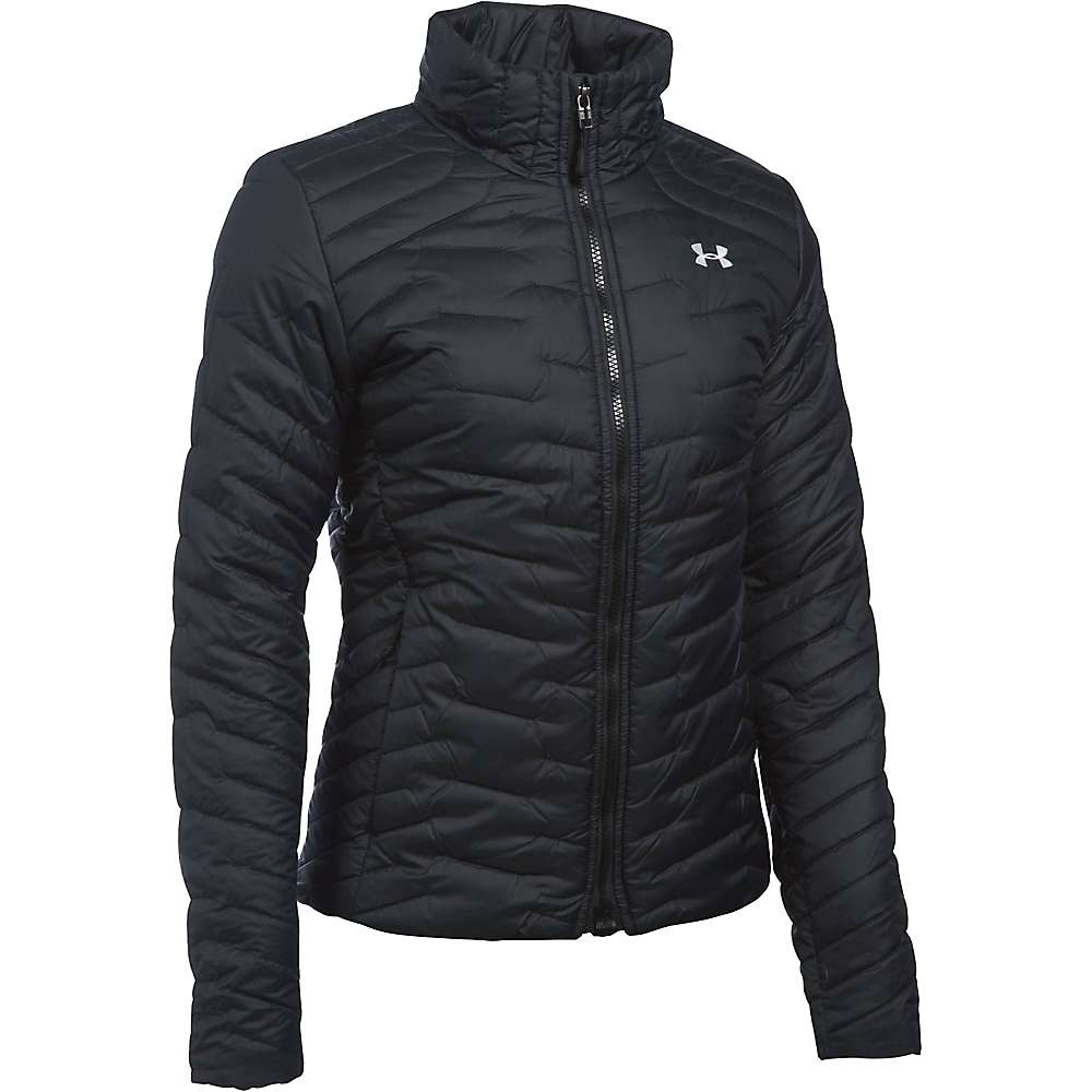 Under Armour Women's UA ColdGear Reactor Jacket - Small - Black / Black / Glacier Grey