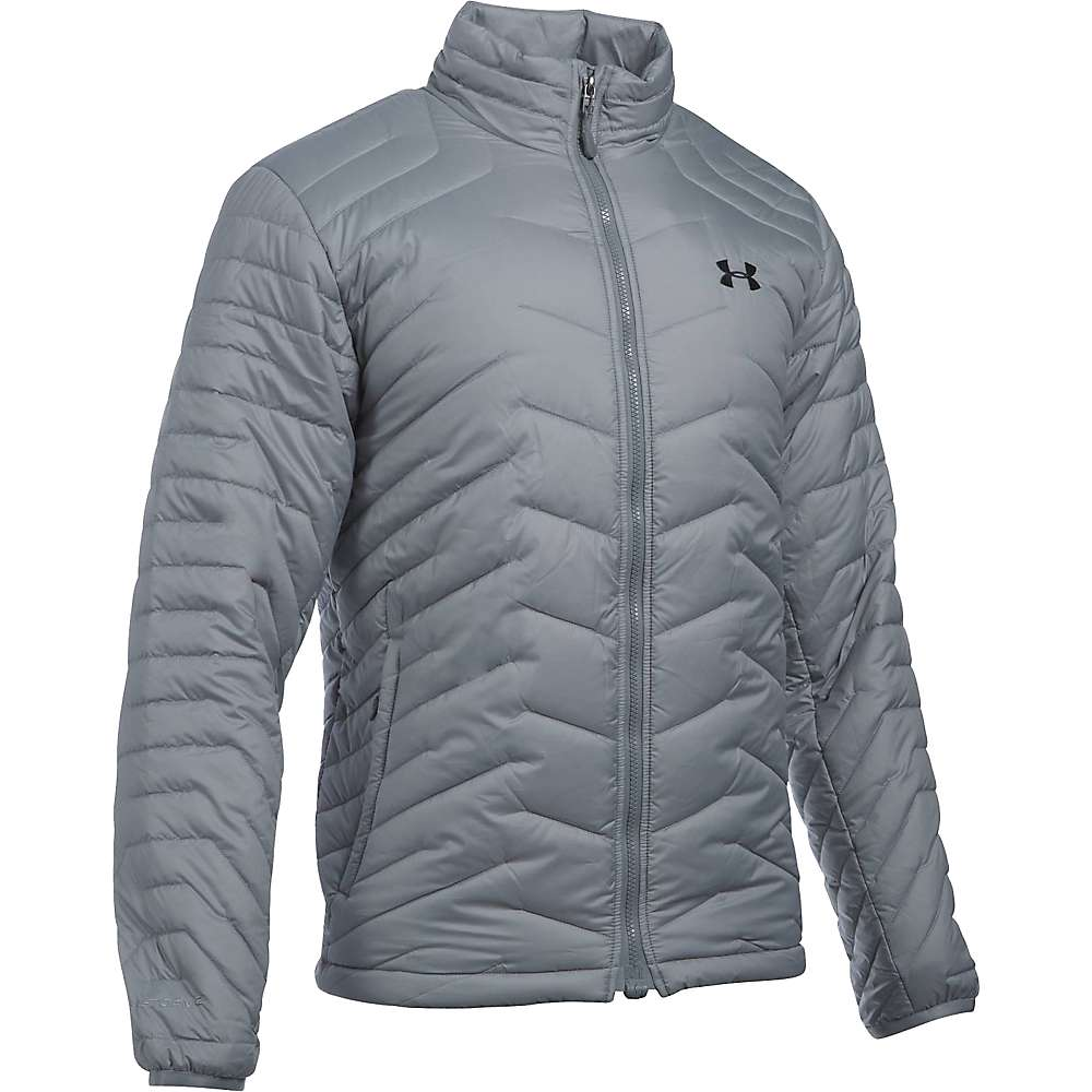 Under Armour Men's UA ColdGear Reactor Jacket - XXL - Steel / Black