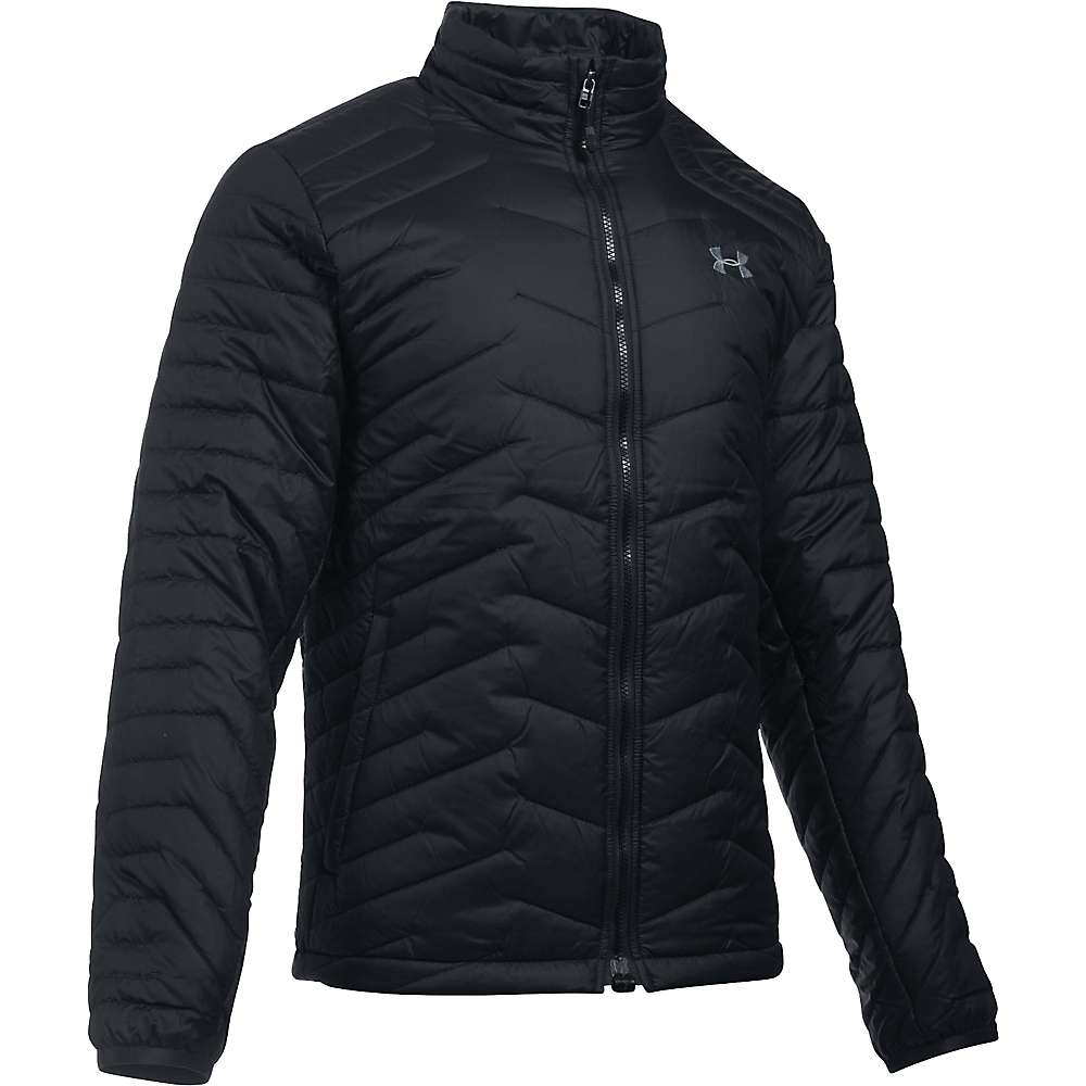 Under Armour Men's UA ColdGear Reactor Jacket - Small - Black / Black / Steel