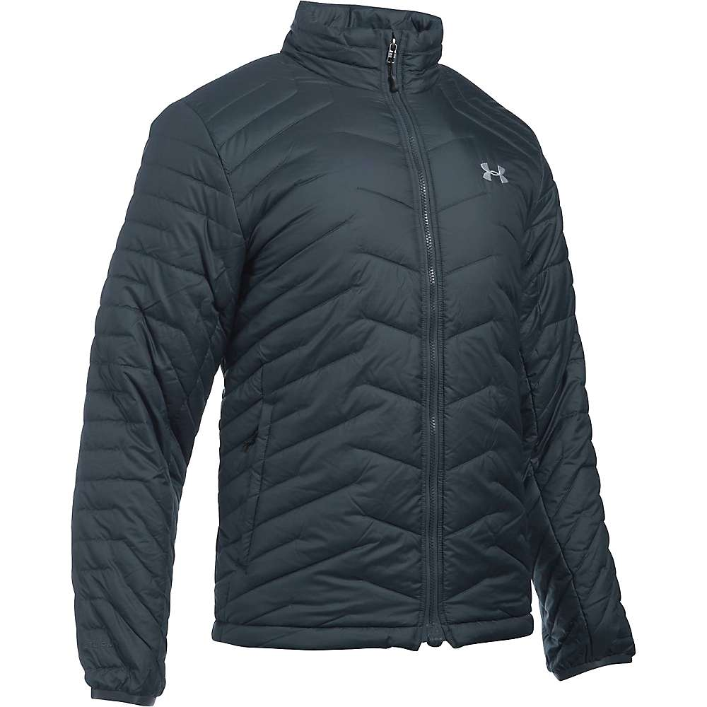 Under Armour Men's UA ColdGear Reactor Jacket - Medium - Stealth Grey / Overcast Grey