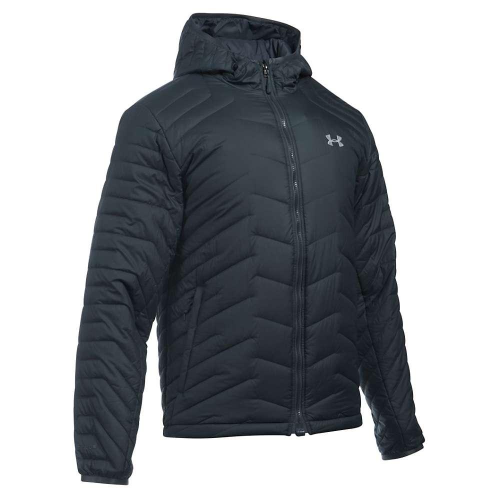 Under Armour Men's UA ColdGear Reactor Hooded Jacket - XL - Stealth Grey / Overcast Grey