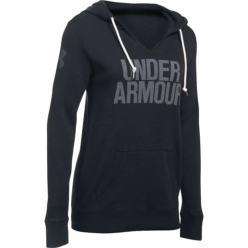 Under Armour Women's Favorite Fleece Hoodie - Small - Black / White