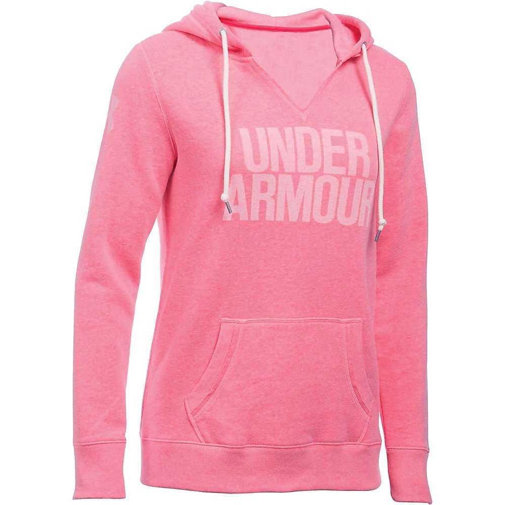 Under Armour Women's Favorite Fleece Hoodie - Small - Knock Out / White