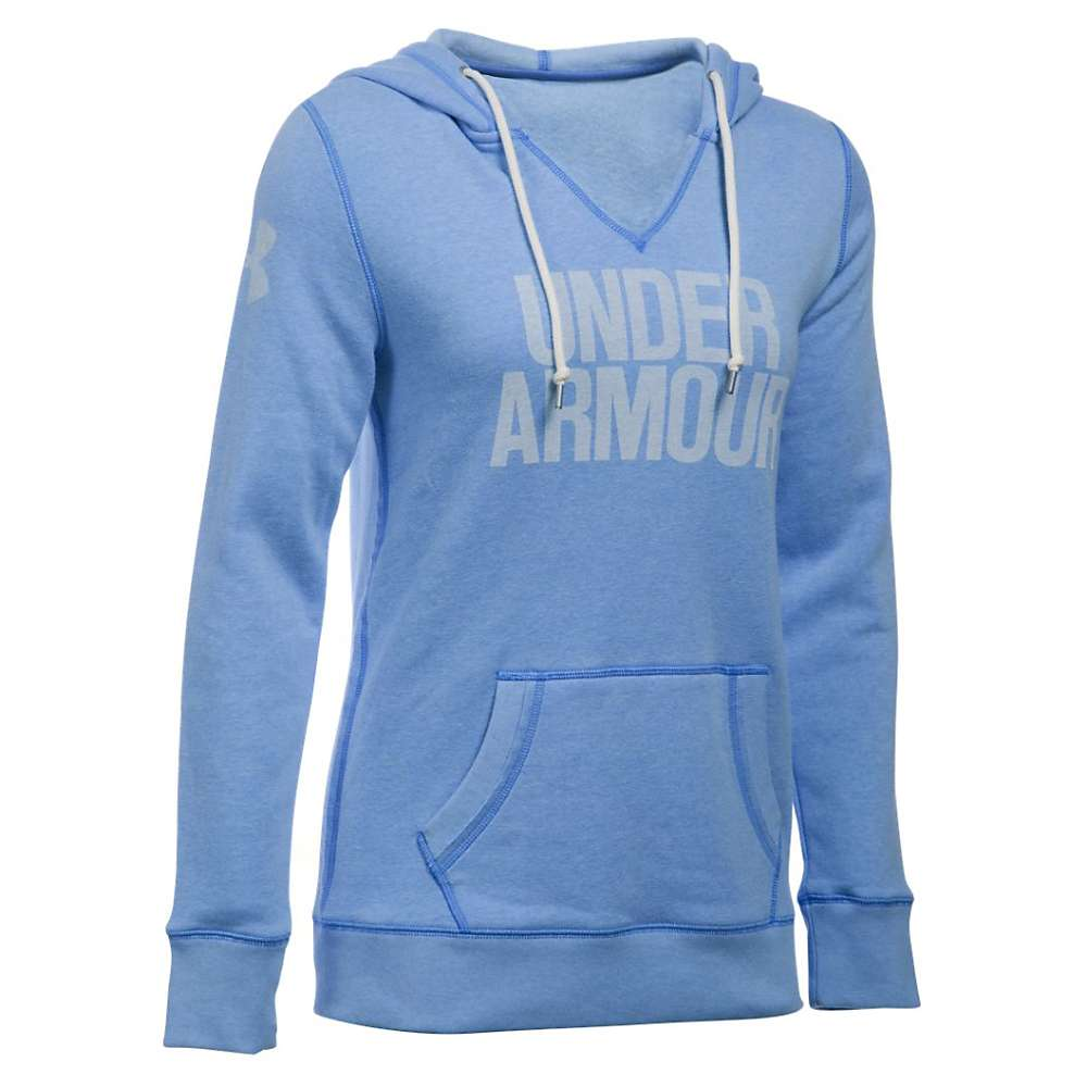 Under Armour Women's Favorite Fleece Hoodie - Small - Water / White 464