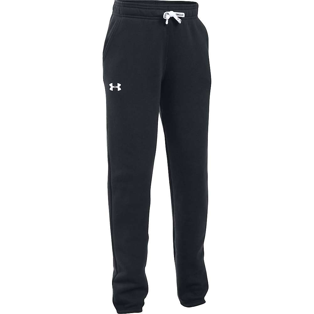 Under Armour Girl's Favorite Jogger Pant - Medium - Black / White
