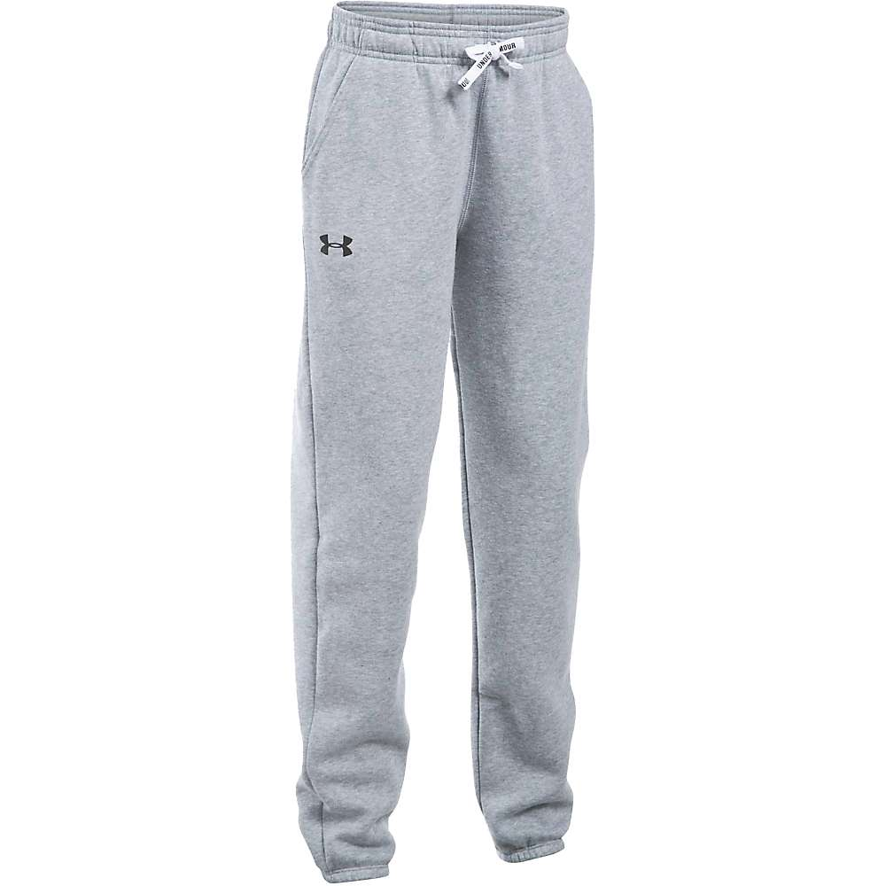 Under Armour Girl's Favorite Jogger Pant - Large - True Grey Heather / Black