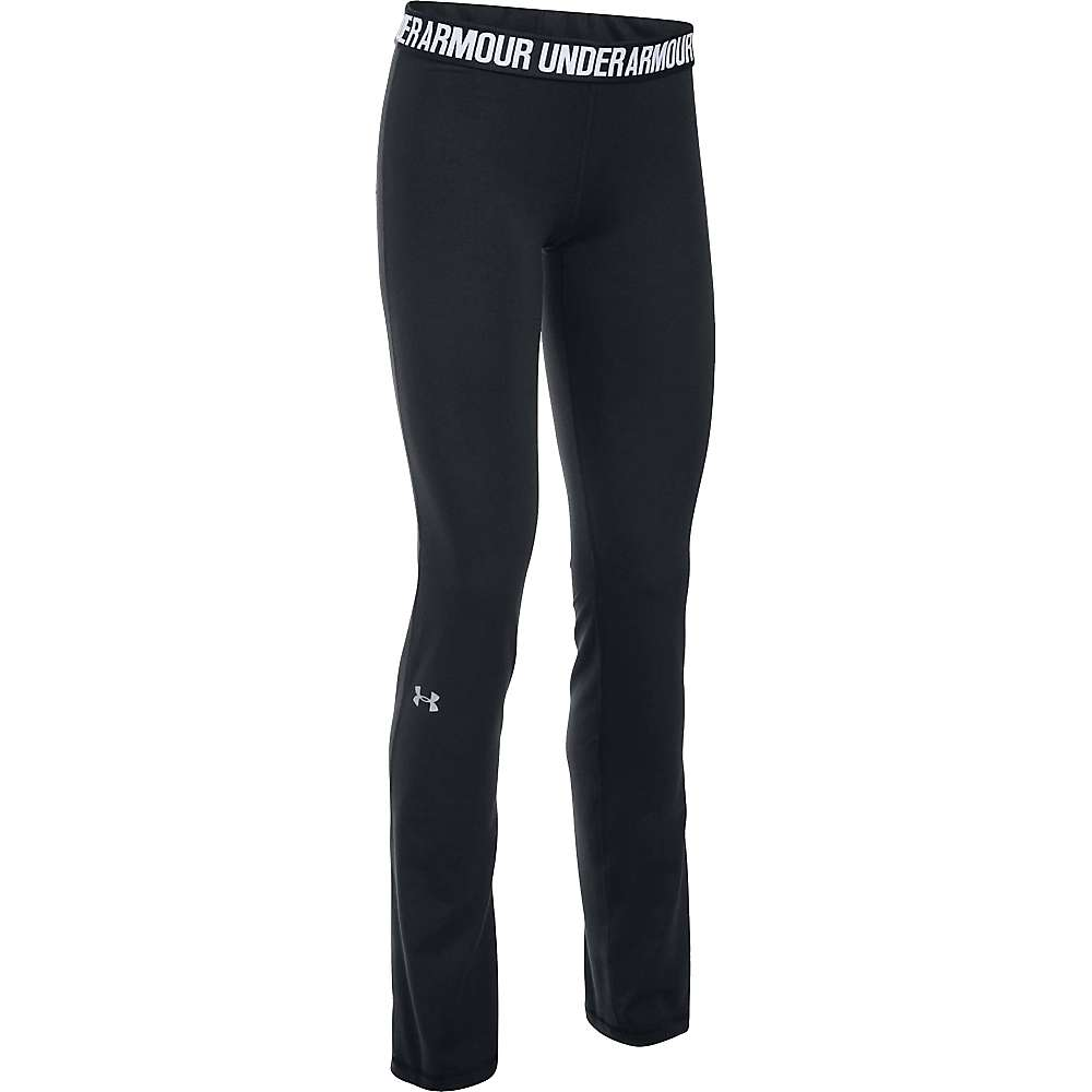 Under Armour Women's UA Favorite Pant - XS - Black / White / Metallic Silver