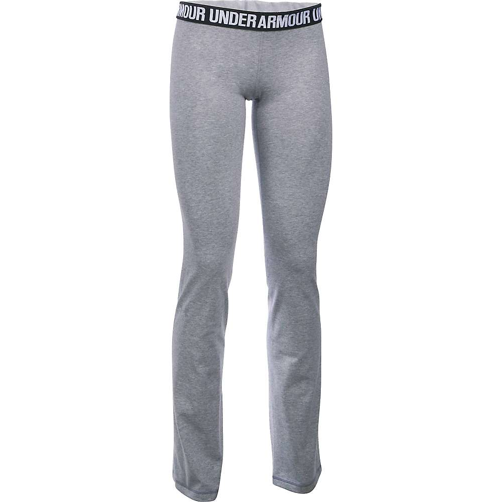 Under Armour Women's UA Favorite Pant - Small - True Grey Heather / Metallic Silver