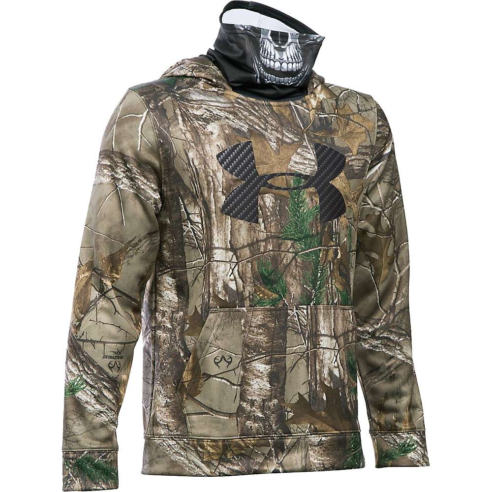 Under Armour Boy's Skull Mask Hoodie - XL - Realtree Ap-Xtra / Black