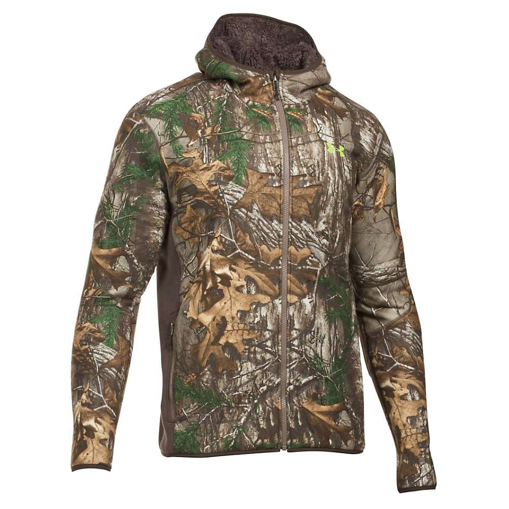 Under Armour Men's Stealth Hoodie - XXL - Realtree Ap-Xtra / Velocity
