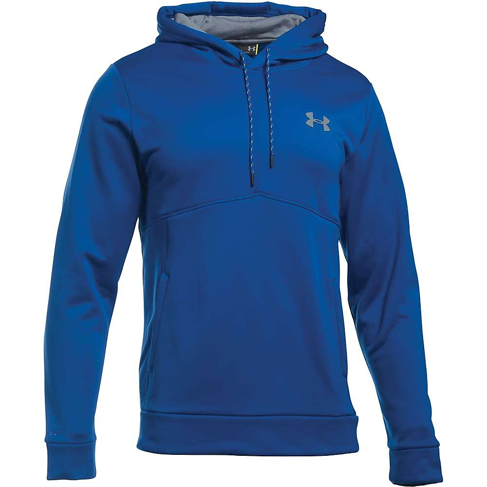 Under Armour Men's UA Storm Armour Fleece Icon Hoodie - XXL - Royal / Midnight Navy / Steel