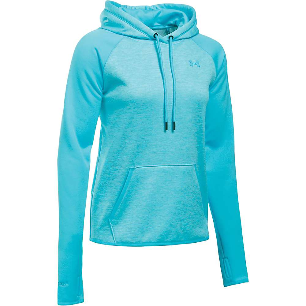 Under Armour Women's Storm AF Icon Twist Hoodie - Medium - Venetian Blue / Venetian Blue / Venetian Blue