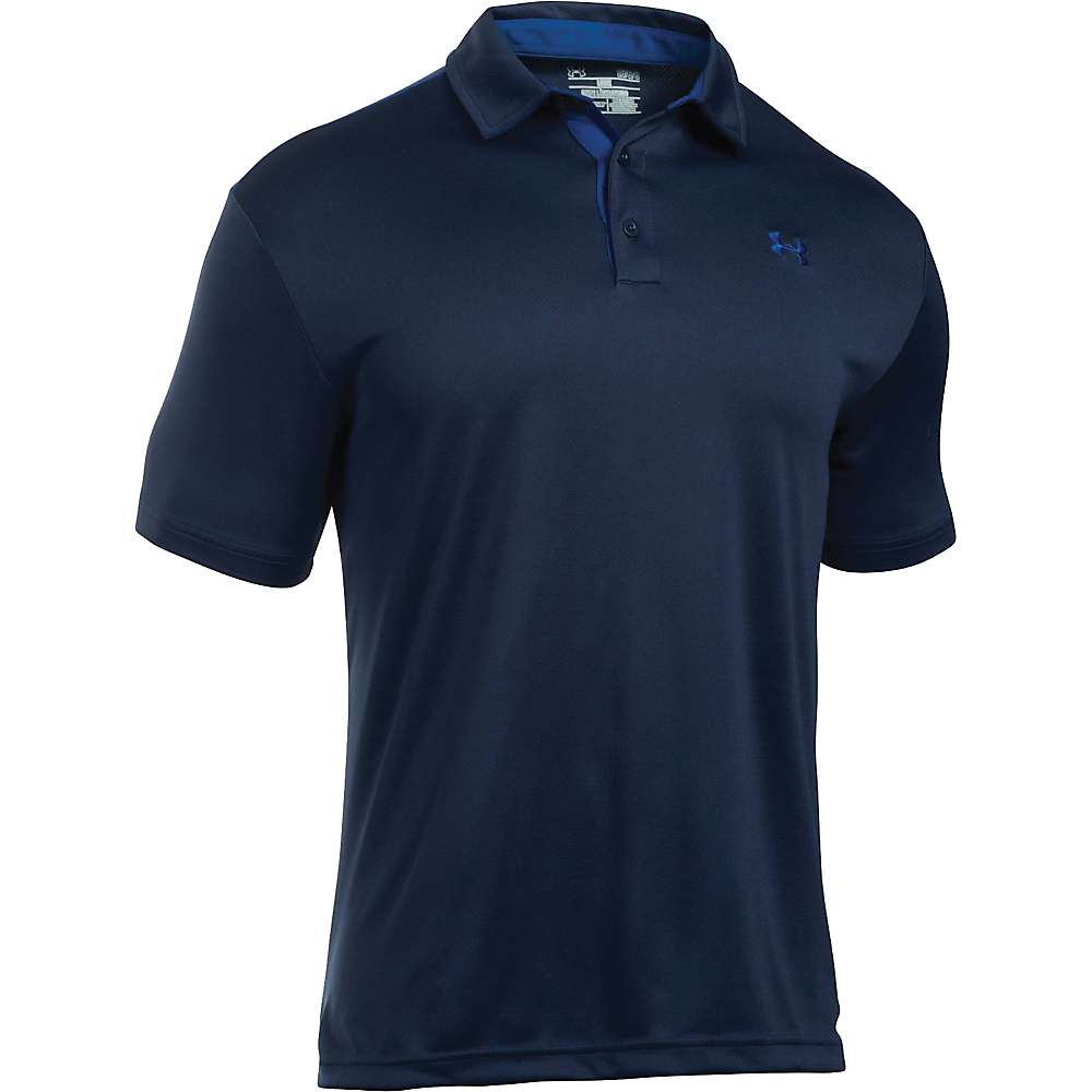 Under Armour Men's Tech Polo - Medium - Midnight Navy / Royal